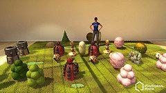 PlayStation Home: Crea un Mondo PixelJunk™!