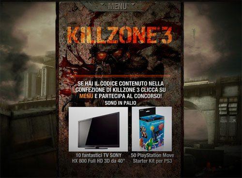 Killzone 3: Il Concorso