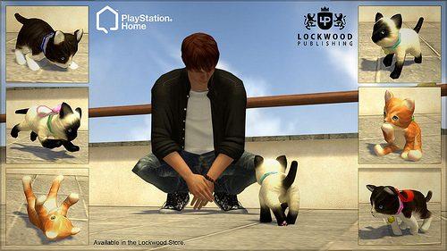 PlayStation Home: Gattini e Gangster