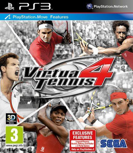Virtua Tennis 4 Sta per Servire Contenuti Esclusivi ai Fan del Tennis su PS3