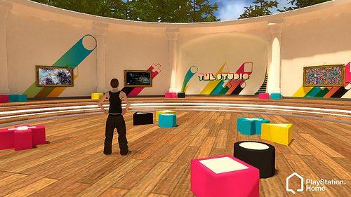 PlayStation Home: Arte e Navicelle