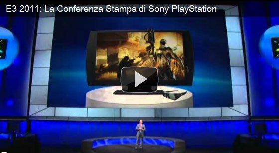 E3 2011: La Conferenza Stampa di Sony PlayStation