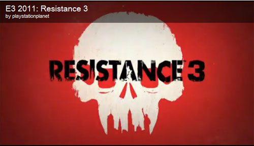 E3 2011: Marcus Smith Parla di Resistance 3