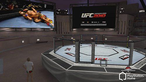 PlayStation Home: l'Octagon dell'UFC