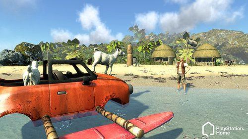 PlayStation Home: Diesel Island