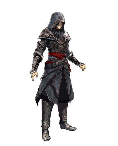 Il costume di Ezio in Final Fantasy XIII-2