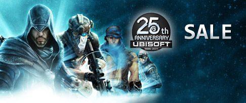 Ubisoft festeggia il suo 25° compleanno con sconti su PSN