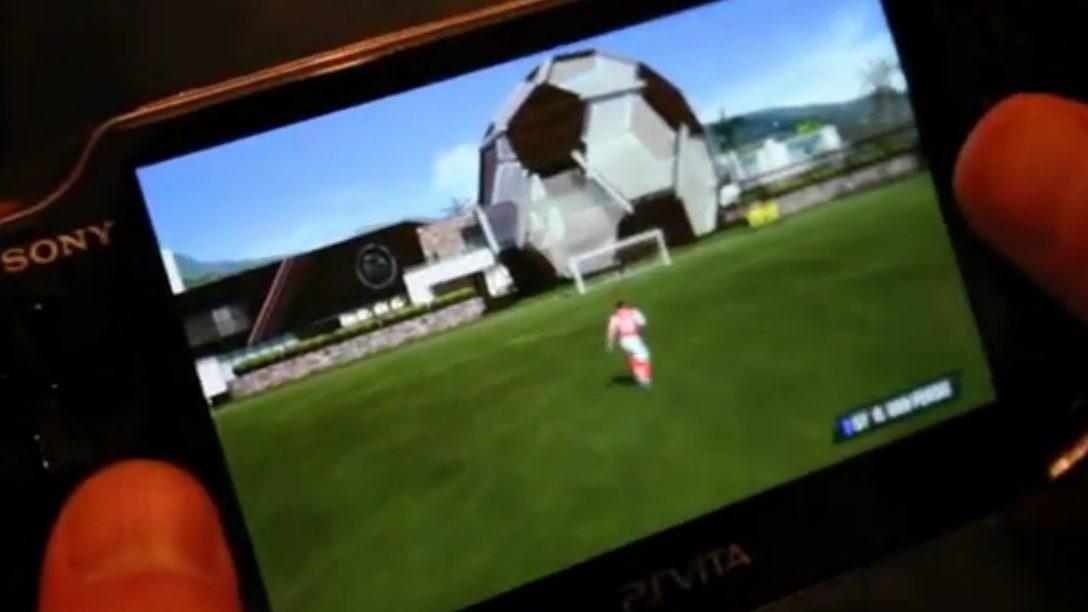 FIFA su PS Vita in azione