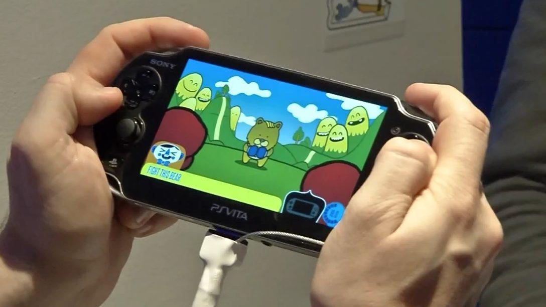 Alla scoperta delle funzionalità di PS Vita con Sony Tag e Frobisher Says!