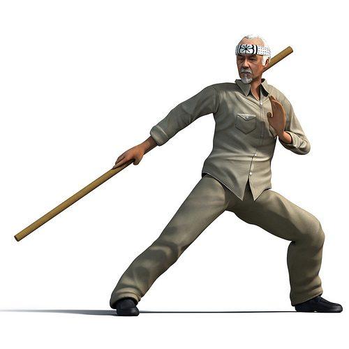 Reality Fighters e il ritorno di una leggenda: il mitico maestro Miyagi!