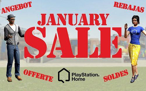 Le offerte di Gennaio sbarcano su PlayStation Home