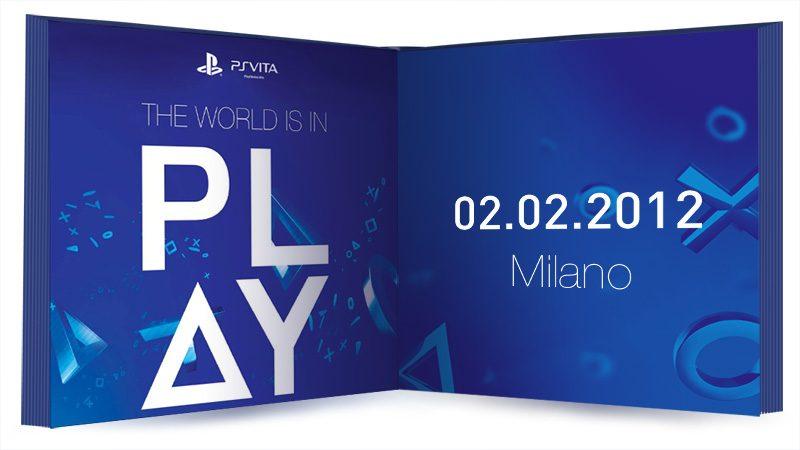 The World is in Play: in arrivo l'evento ufficiale PS Vita a Milano