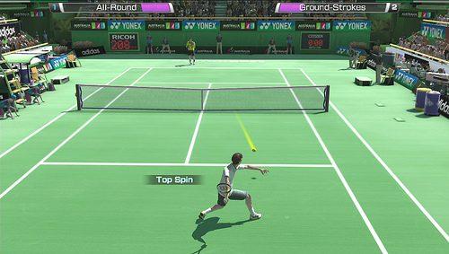 I nuovi comandi touch per Virtua Tennis 4: World Tour Edition
