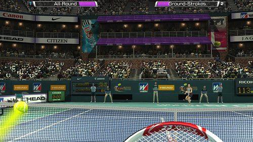 Sensibilità al movimento confermata per Virtua Tennis 4: World Tour Edition