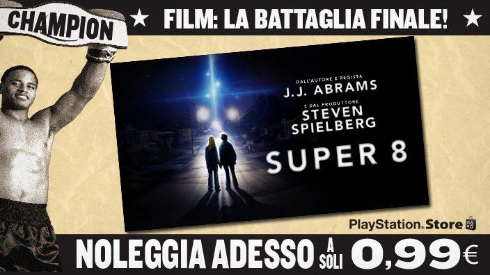 """""""The Movie Showdown"""": Super 8 sul Video Store a soli 0.99 €"""
