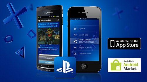 Applicazione ufficiale PlayStation 1.3: aggiornamento