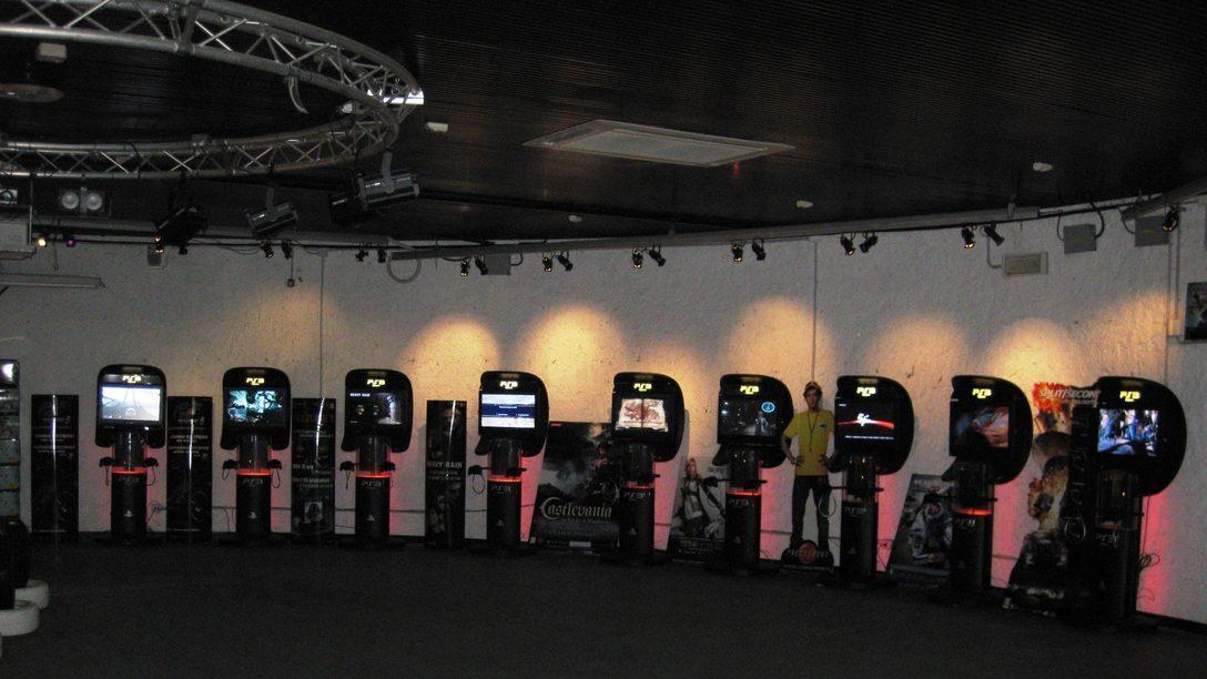 Il Pala PlayStation all'interno del parco Italia in Miniatura
