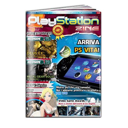 PlaystationZ!NE: disponibile il secondo numero!