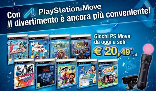 Con PlayStation Move il divertimento è ancora più conveniente!