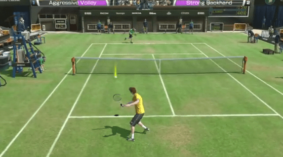 Virtua Tennis incontra Andy Murray!