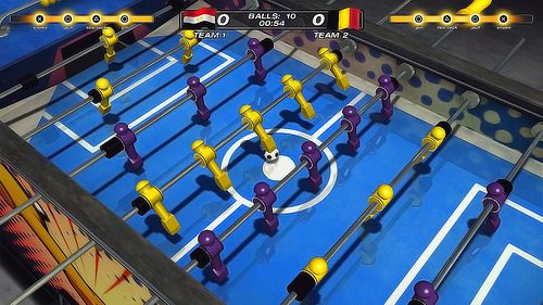 La partita di Foosball 2012 ha inizio oggi
