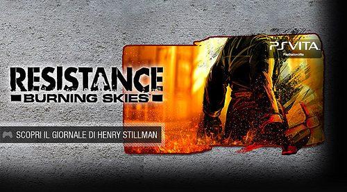 La Novella Grafica di Resistance: Burning Skies è stata trovata!