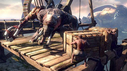 I mostri di God Of War: Ascension – L'Elefantauro