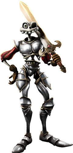 PlayStation All Stars Battle Royale: Nariko di Heavenly Sword e Sir Daniel Fortesque di  MediEvil