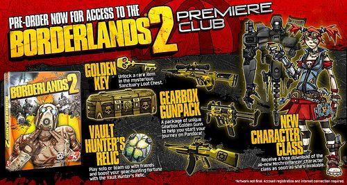 Il lancio di Borderlands 2 in simultanea anche su PSN