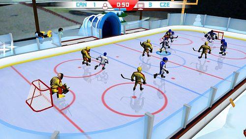 Table Ice Hockey rompe il ghiaccio oggi su PS Vita