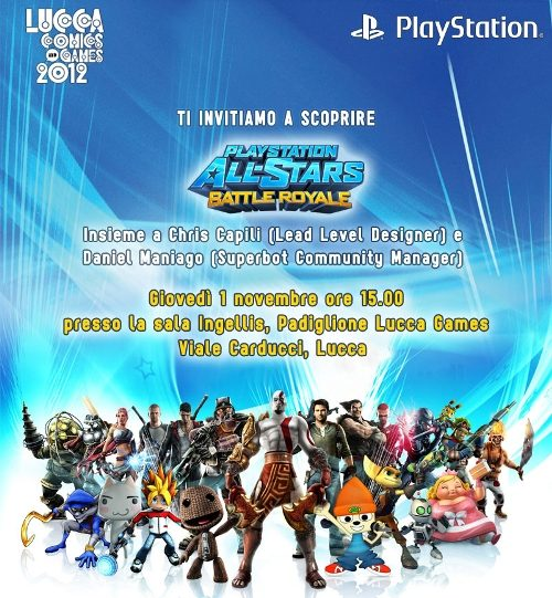PlayStation All-Stars Battle Royale – Incontra gli sviluppatori a Lucca!