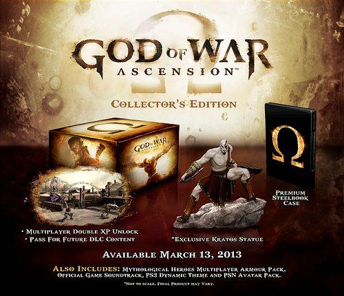 God of War: Ascension – La Collector's e la Special Edition svelate