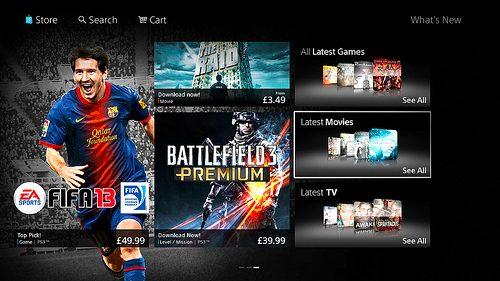 Ecco a voi il nuovo PlayStation Store