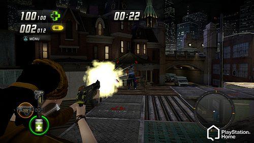 PlayStation Home: Uproar e avvenimenti spettrali