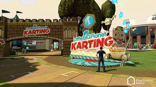PlayStation Home: LBP Karting arriva a Piazza Home