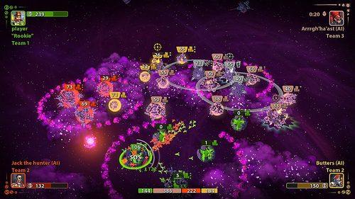 Scatena una guerra intergalattica con Planets Under Attack, dalla prossima settimana sul PSN