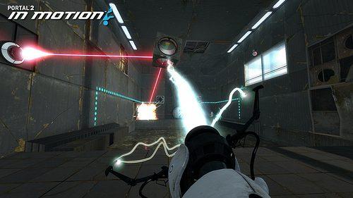 Dietro le quinte di Portal 2 In Motion