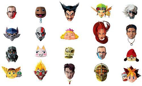 Le illustrazioni dei personaggi di PlayStation All-Stars Battle Royale
