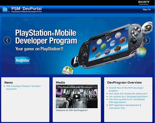 Il programma di sviluppo per PlayStation Mobile è disponbile, scarica il SDK