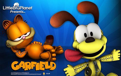 Pupazzi alla riscossa: scaricate il wallpaper di Garfield!
