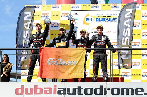 GT Academy sale sul podio della 24 ore di Dubai
