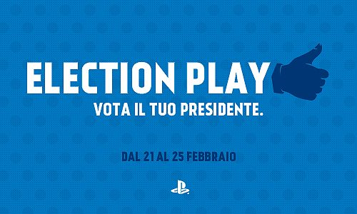 ElectionPlay su Facebook: dal 21 al 25 Febbraio vota il tuo Presidente del mondo dei giochi PlayStation!