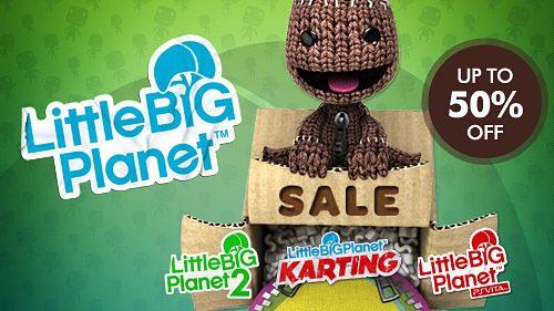 Grandi sconti sul mondo di LittleBigPlanet da oggi!