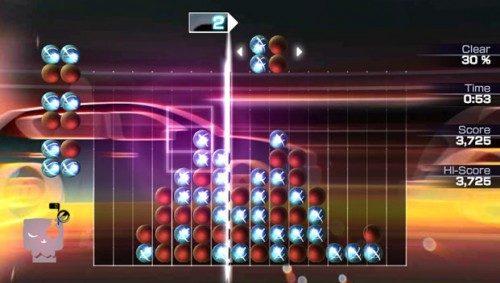 La tempesta audio-visiva di Lumines: Electronic Symphony gratis su PlayStation Plus