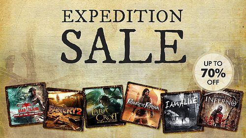 Partite all'avventura con gli sconti Expedition del PlayStation Store