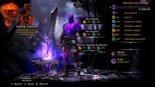God of War: Ascension aggiornamento 1.03 – Ritocchi alle Prove di Archimede e aggiunta delle features di personalizzazione