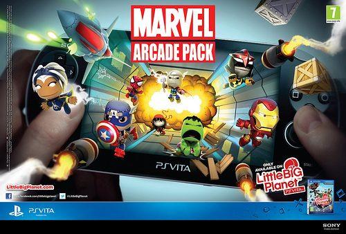 Aggiornamento LittleBigPlanet: Marvel Arcade Pack disponibile ora!
