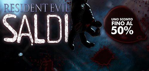 Terrificanti sconti sulla saga Resident Evil da questa settimana