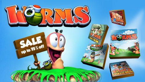 Settimana esplosiva con gli sconti per Worms su PlayStation Store