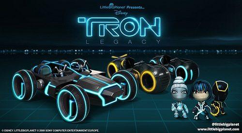 Aggiornamento LittleBigPlanet: Tron Light Cycles da questa settimana